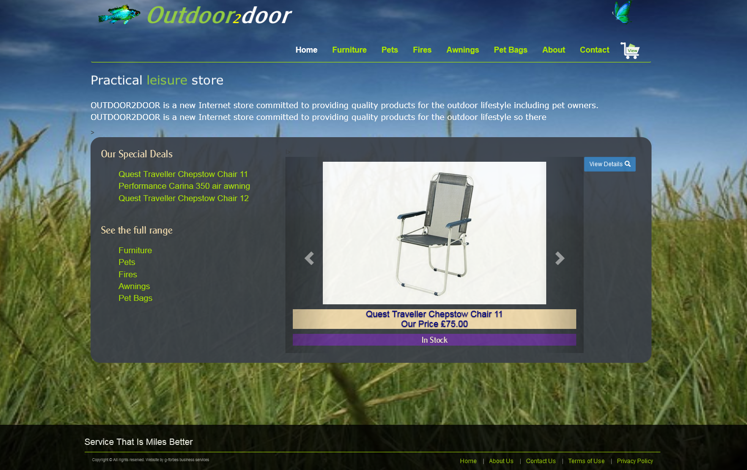 Outdoor2door Website